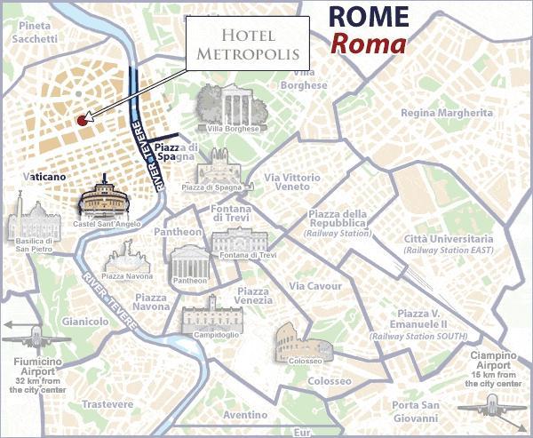 Hotel Piazza Irnerio Roma